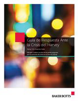 Harvey Crisis Response Guide Spanish Cover