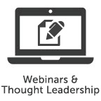 Webinars and Thought Leadership